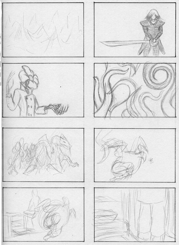 Page of Random Sketches